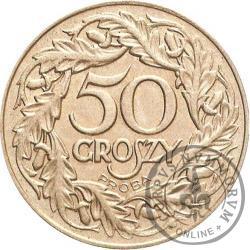 50 groszy - nikiel PRÓBA