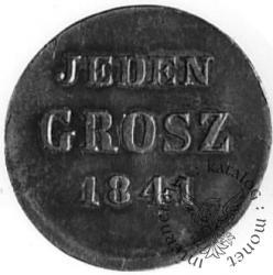 1 grosz - JEDEN