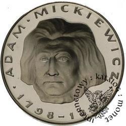 100 złotych - Adam Mickiewicz