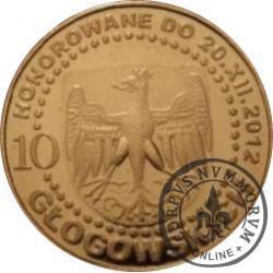 10 głogowskich / KAZIMIERZ IV JAGIELLOŃCZYK (VI emisja - mosiądz)