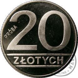 20 złotych - PRÓBA Ni