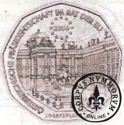 5 euro - Prezydencja Rady UInii Europejskiej