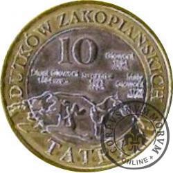 10 dutków zakopiańskich - Dziewięćsił bezłodygowy (IV emisja)