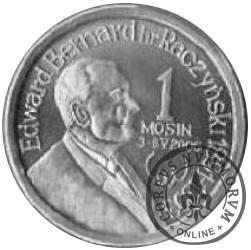 1 mosin (Ag) - hr. Edward Bernard Raczyński