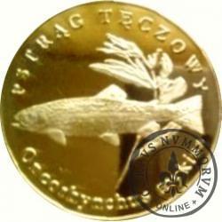 10 złotych rybek (mosiądz) - LVIII emisja / PSTRĄG TĘCZOWY