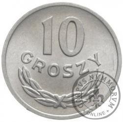 10 groszy - bez znaku