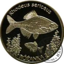 10 złotych rybek (alpaka) - XXVII emisja / RÓŻANKA