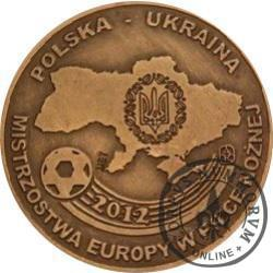 EURO 2012 - POLSKA - UKRAINA (miedź patynowana)