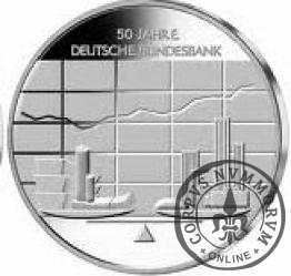 10 euro -   50 - lecie Bundesbanku