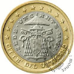 1 euro - Sede Vacante