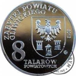 8 talarów powiatowych - Poniszowice / Kościół Św. Jana Chrzciciela (Ag)