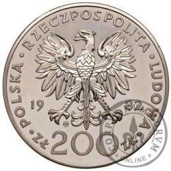 200 złotych - Jan Paweł II - st.zw.