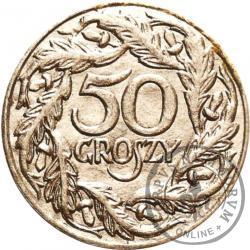 50 groszy - tektura