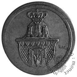 2 złote - dwuzłotówka krakowska - ołów bez napisu