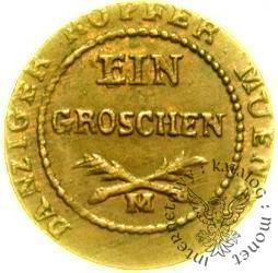 grosz - złoto