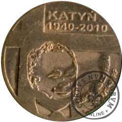 1 denar ustecki 2010 - Katyń (Cu)