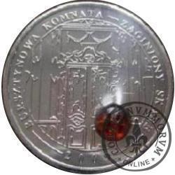 1 amber (mosiądz niklowany) - BURSZTYNOWA KOMNATA - ZAGINIONY SKARB