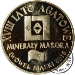 agatus 2015 / XVIII Lwóweckie Lato Agatowe (mosiądz - VII emisja)