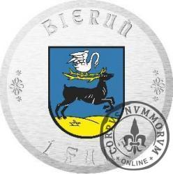 1 funt bieruński - Kościółek Św. Walentego (I emisja - bimetal srebrzony)