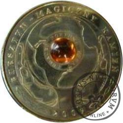 1 amber (mosiądz) - BURSZTYN / MAGICZNY KAMIEŃ
