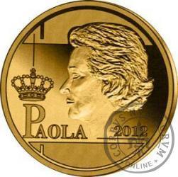 12,5 euro - Królowa  Paola