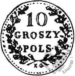 10 groszy - otok z perełek