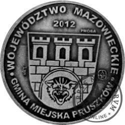 20 pruszkowskich / KOŚCIÓŁ PARAFIALNY P.W. NIEPOKALANEGO POCZĘCIA N.M.P. - PRÓBA (WZORZEC PRZEDPRODUKCYJNY - miedź srebrzona oksydowana)