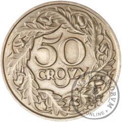 50 groszy - Fe rewers
