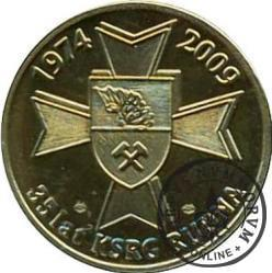 35 - LAT KSRG RUDNA (mosiądz - typ II)
