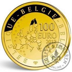 100 euro - 500 rocznica urodzin Gerarda Merkatora
