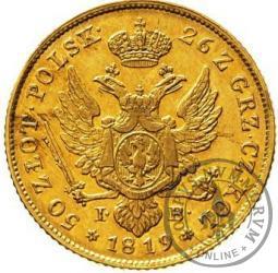 50 złotych - 1819 z obwódką