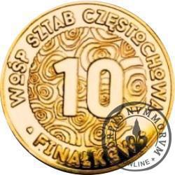 10 finałków (IX emisja) - SZTAB CZĘSTOCHOWA - WOŚP