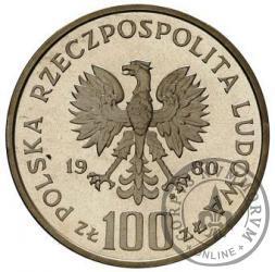 100 złotych - Igrzyska XXII Olimpiady