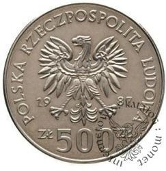 500 złotych - jeździec na koniu
