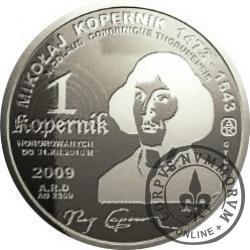 1 kopernik / Mikołaj Kopernik (aluminium)