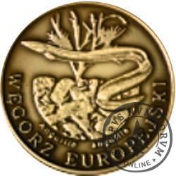 10 złotych rybek (mosiądz patynowany) - L emisja / WĘGORZ EUROPEJSKI