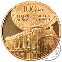 2 złote - 100-lecie Teatru Polskiego w Warszawie
