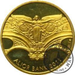 Papież Jan Paweł II / Alior Bank (mosiądz)