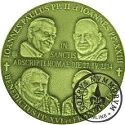 WOJEWÓDZTWO PODKARPACKIE - KANONIZACJA (wydanie medalowe - mosiądz)