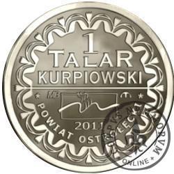 1 talar kurpiowski (alpaka)