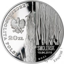 20 złotych - Smoleńsk - pamięci ofiar