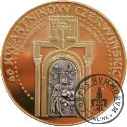 40 kwartników czerwińskich - 600 LECIE BITWY POD GRUNWALDEM (brąz - st. odwrócony)