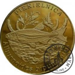 10 złotych rybek (mosiądz patynowany) - LI emisja / PIEKIELNICA