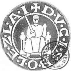 replika denara Bolesława Krzywoustego / Oficjalna moneta IX Jarmarku Tumskiego