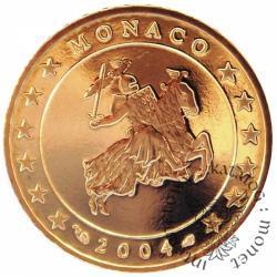 50 euro centów - stempel lustrzany