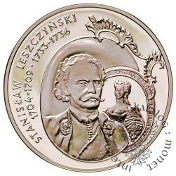 10 złotych - Stanisław Leszczyński - popiersie
