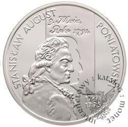 10 złotych - Stanisław August Poniatowski - popiersie