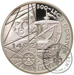 200 000 złotych - 500-lecie odkrycia Ameryki