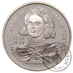 200 000 złotych - Władysław III Warneńczyk - popiersie