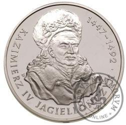 200 000 złotych - Kazimierz IV Jagiellończyk - popiersie